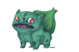 PC: 001 Bulbasaur by lambomill