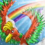 Ho-Oh the Magnificent by Speedvore