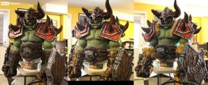 World of Warcraft Orc Cosplay WIP 19 SKS Props by SKSProps