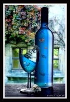 Sea Through Bottle by NatsPearlCreation