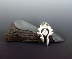 Wow Horde Tie Tack by Peaceofshine