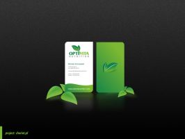 Optivita Business Card by snozexp