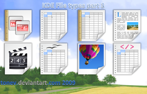 KDE filetypes 3 by tonev