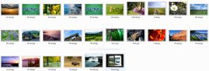 Windows 7 6956 wallpapers pack by Kruper11