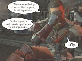 Isaac about ME3 endings SPOILER! by Derwen