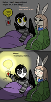 Doodle Comic - Moth Eyes by blinkpen