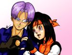 trunks y Appuru by Dorapz