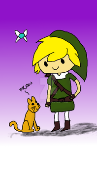 LoZ meets Adventure Time by lilypad954