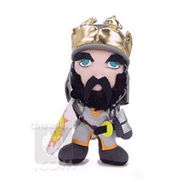 Monty Python King Arthur Plush by kaijumama