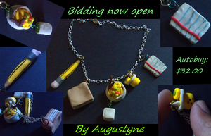 College Kids Necklace by Augustyne