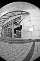 fisheye meets ollie by AllKnowIssues