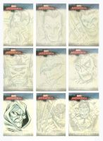 Marvel Sketch Cards 1 by millsy1c