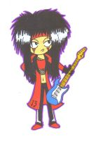 Mick Mars - Lucky 13 by PearGirl