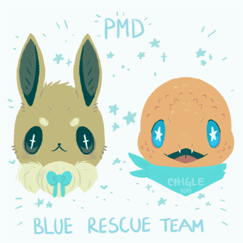 PMD: team blue by Chigle