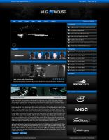 MugnMouse Gaming Website by zblowfish