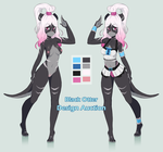 Black Otter - Design Auction/Adoptable by CoffeeChicken