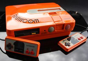 custom Twin Famicom by Zoki64