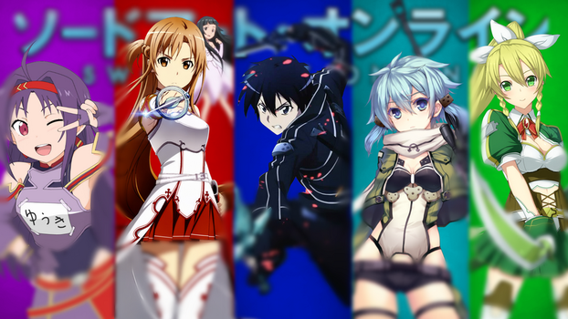 SAO Character Background by DeadDefiance