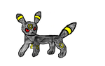 Umbreon with extra hidden feature by Car-lover33