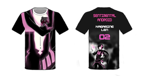 Sentimental Android T-Shirt (Sample) by Lenka-chan-des
