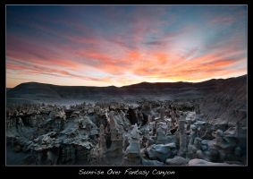 Sunrise Over Fantasy Canyon by brentbat