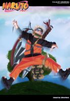 Konoha's genin on mission : Naruto Uzumaki by Darkartmind87