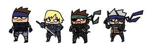 MGS Thingies by DiegoTheGnome