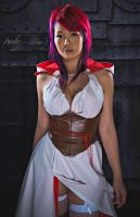 Female Assassin's Creed by OneWei