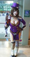 Mad Moxxi preview by PookieBearCosplay