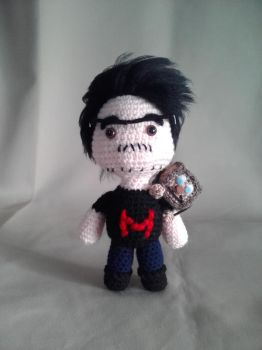 Markiplier and Tiny Box Tim|(Amigurumi)(Sale Link) by OnlyIfItsFluffy