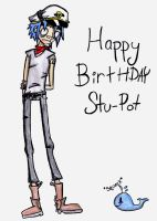 Happy Birthday Stu by 23-hour-party-people