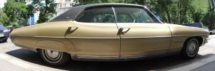 Pontiac Bonneville 455 Side Panorama by theTobs