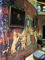 gryffindor tower common room  harry potter tour by Sceptre63