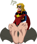 Ms. Marvel in stocks by T95Master