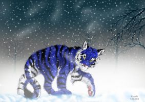 Cold winter night by Kenahi