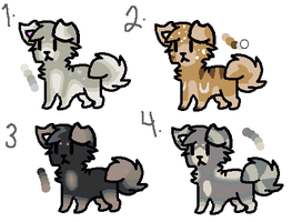 Natural Puppy Adopts by coraIreef