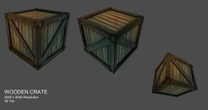 Wooden Crate - Project Medieval Zombies by mhofever