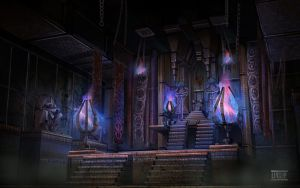 Dumac palace (Dagoth Ur) - Throne chamber by lukkar