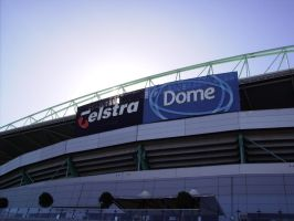Telstra Dome by lil-naruto