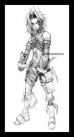 Request:dot Hack Haseo by Tree-ink