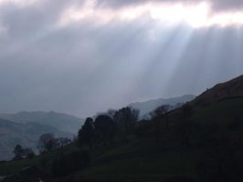 Lake district sky by Neoncolastash