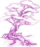 Tattoo tree study by Porticulous