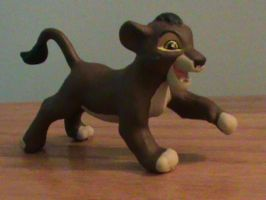 TLK-Custom Running Kovu Figure by KrazyKari