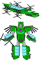 The Flying Crock as a Transformer by Gamekirby