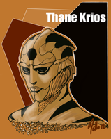Thane Krios [2] by MellorianJ