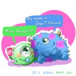 Baby Sully and baby Mike by Shanran