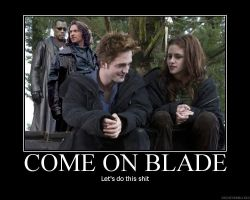 Come on Blade by Lainedy