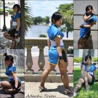Chun Li Cosplay -Street Fighter version 2 by LovelyAdachi