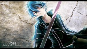 Sword Art Online - Kirito Wallpaper by eaZyHD