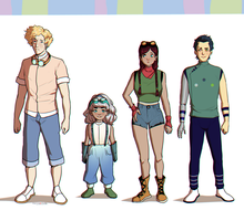 New Characters by Marina-Shads